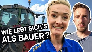 Jung & Bauer: Wie ist das? 1 Tag auf dem Bauernhof || PULS Reportage