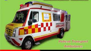 Medilift Road Ambulance in Bokaro - Pick up the VAN with ICU facility