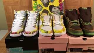 ShoeZeum De La Soul Nike Dunk SBs