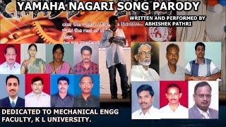 Yamaha Nagari Song Parody by Abhishek Pathri