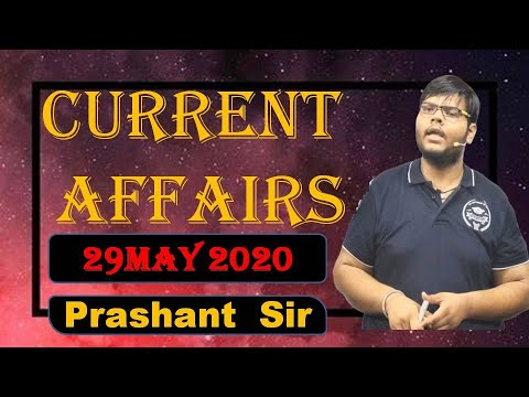 29 May 2020 | Current Affairs Today | Current Affairs 2020 || Pathshala Classes