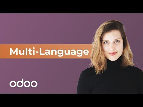 Multi-Language | odoo Website