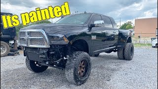 Rebuilding a Lifted Dodge Ram 3500 part 3