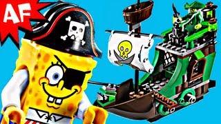 Lego Spongebob FLYING DUTCHMAN Set 3817 Animated Building Review