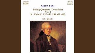 "Divertimento in F Major, K. 138, ""Salzburg Symphony No. 3"": II. Andante"