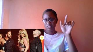 Britney Spears Liar live(Reaction)