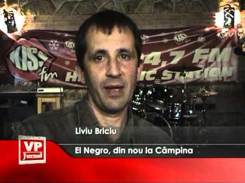El Negro, din nou la Câmpina
