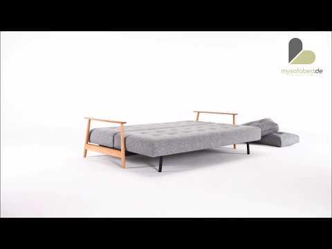 ELUMA DELUXE BUTTON Schlafsofa von Innovation -  mysofabed.de