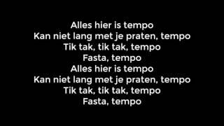 Jairzinho Ft. Sevn Alias, Bko & Boef - Tempo [Lyrics]