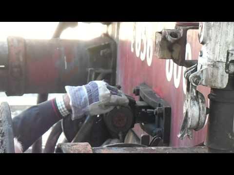 Fasi di smontaggio del gancio automatico e tradizionale dal E656.600