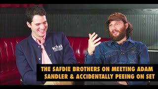 The Safdie Brothers on Meeting Adam Sandler & Peeing on Set