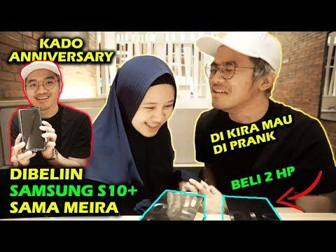 DIBELIIN SAMSUNG GALAXY S10+ SAMA MEIRA | GUE KIRA MAU DI PRANK :(