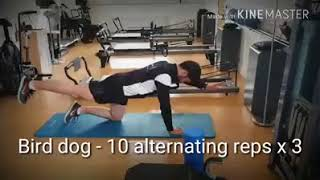 Ab Blast Workout with physiotherapist Gearóid