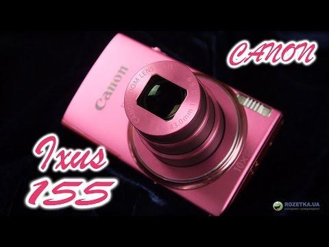 Canon IXUS 155: обзор компактного фотоаппарата
