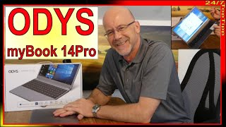 """ODYS myBook 14 pro ✔ 14,1"""" FHD Display [ Notebook Schnäppchen ] Unboxing - Review - Laptop Top Tipp"""