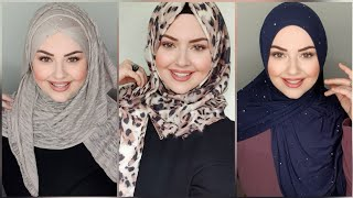 Şal Bağlama Modelleri Eşarp  Hijab Tutorial 2020 Hijab Style  ⭐💖لفات حجاب جديدة لفات طرح ستايل جديد