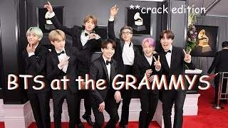 bts at the grammys in a nutshell