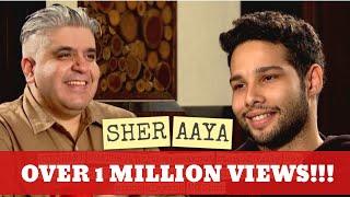Siddhant Chaturvedi aka MC Sher interview with Rajeev Masand