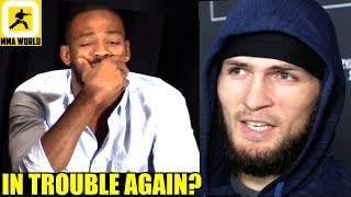 Jon Jones has been charged with Battery for alleged incident at a strip-club,Khabib vs GSP?