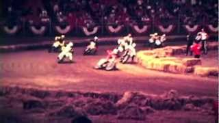 Houston Astrodome Vintage Flat track motorcycle racing Jim Rice ect.mov