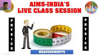 AIMS TODAY Live Stream – 4TH JUNE 2020 – 8TH CLASS – PHYSICS 01 (4 PM TO 4:45 PM SESSION)