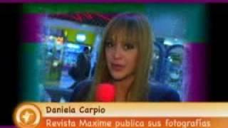 Daniela Carpio - Entrevista Rumores 2011