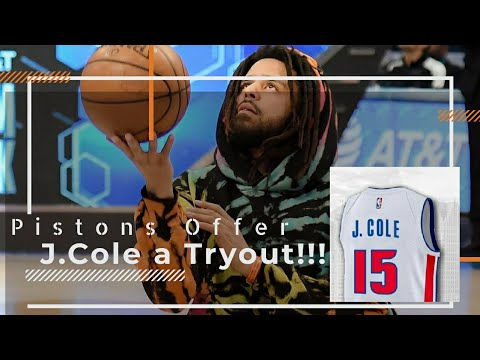 Detroit Pistons Offers J.Cole a Opportunity To Tryout For The Team!!!