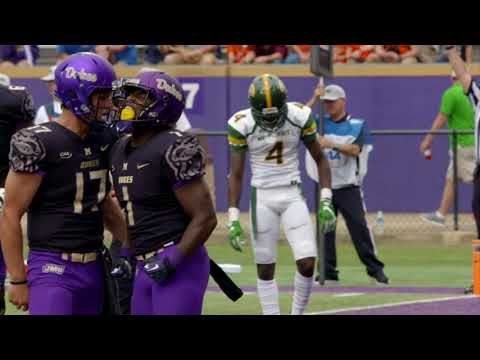 JMU running back plays the day his father died   College GameDay   ESPN