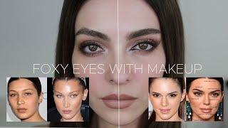 Mirada De Modelo Estilo Bella Hadid O Kendall Jenner Con Maquillaje   Anna Sarelly