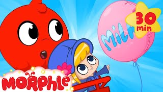 My Hot Air Balloon - Milas Balloon | Cartoons For Kids | Morphle TV