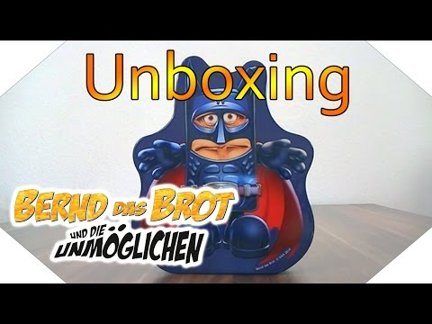 Unboxing: Bernd das Brot und die Unmöglichen - Brotbox Edition [German]