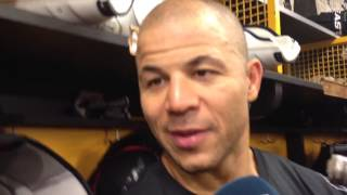 Jarome Iginla happy with his Bruins debut