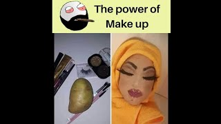 #funnymeme #funnymemes   -  The Power Of Makeup !  Funny Memes Daily
