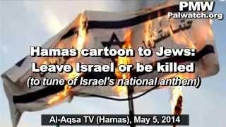 "Hamas TV song ""The End of Hatikva"" anticipates Jews' expulsion from Israel"