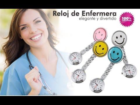 Reloj Profesional de colgar ideal para enfermera tipo pinza - aPreciosdeRemate