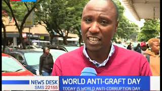 Kenyans express their views on the fight against corruption