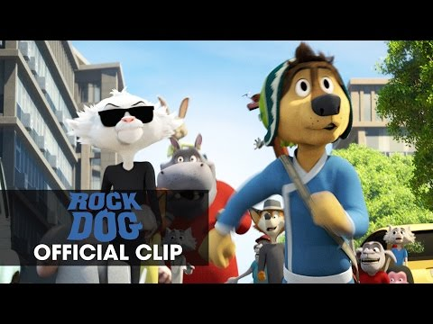 Rock Dog (Clip 'The Chase')
