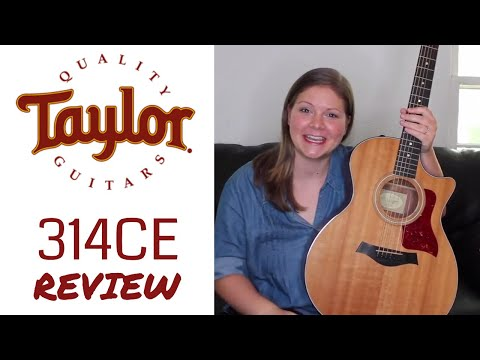🎸 MY TAYLOR 314CE ACOUSTIC GUITAR REVIEW 😍