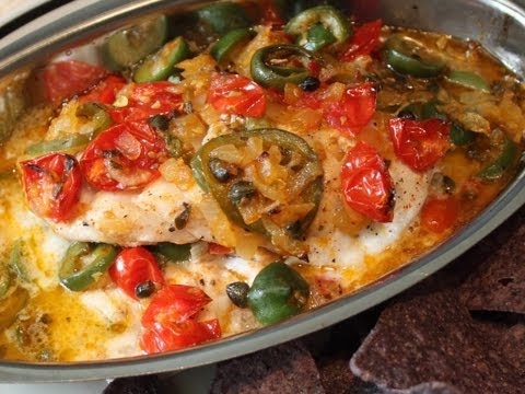 Veracruz-Style Red Snapper Recipe – Easy Baked Fish Veracruz
