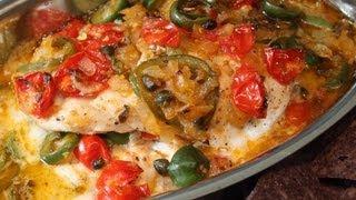 Veracruz-Style Red Snapper Recipe - Easy Baked Fish Veracruz