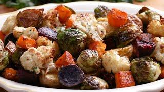 How To Roast Vegetables • Tasty