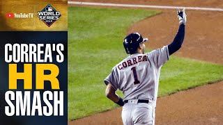 Carlos Correa RAKES 2-run home run to extend Astros' lead in World Series Game 5 | MLB Highlights