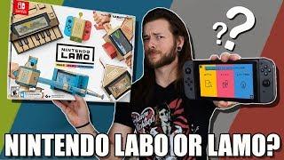 Is Nintendo Labo Just CARDBOARD Or Worth Buying?