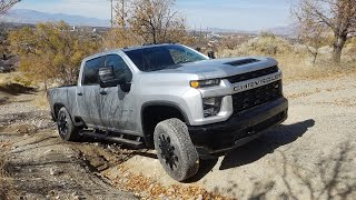 2020 SIlverado HD 6.6 Gas Review and Off Road Traction Test