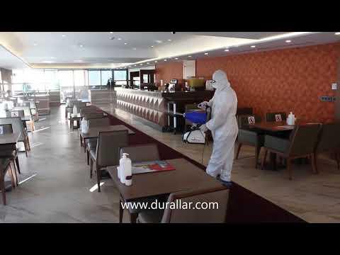 Restoran ve Cafeler İçin Ulv Dezenfeksiyon Makinesi