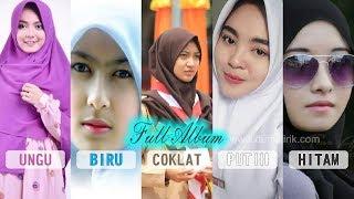 PAKET LENGKAP! Adek Berjilbab Ungu, Biru, Coklat, Putih & Hitam + Lirik [5 Lagu]
