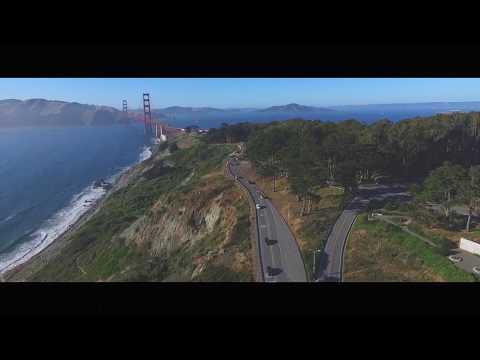 Golden Gate Bridge Drone Footage
