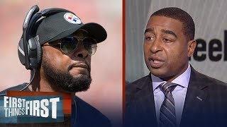 Mike Tomlin gives fiery answer on Steelers' handling of anthem - was he right? | FIRST THINGS FIRST