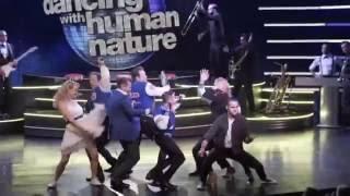 Robert Herjavec and Kym Johnson Dancing with Human Nature Jukebox