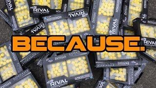 Opening 28 Nerf Rival 40 Round Packs. Because.   Walcom S7